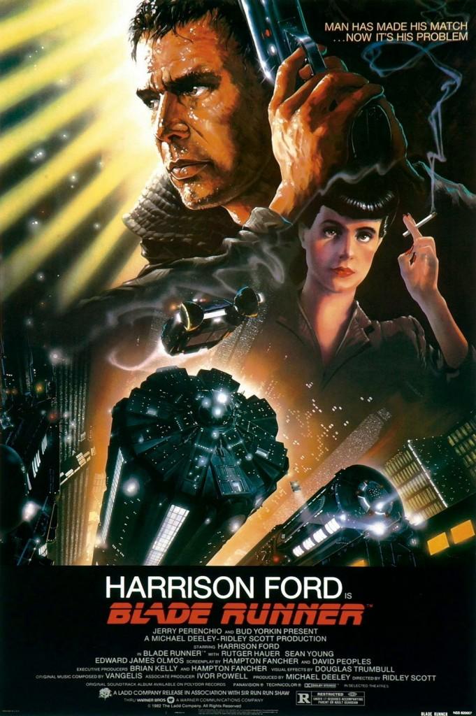 MERCEDES Blade Runner Poster